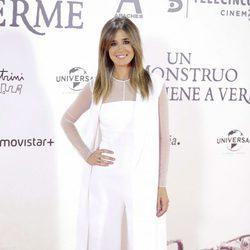 Isabel Jiménez en el estreno de 'Un monstruo viene a verme'