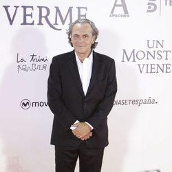 José Coronado en el estreno de 'Un monstruo viene a verme'
