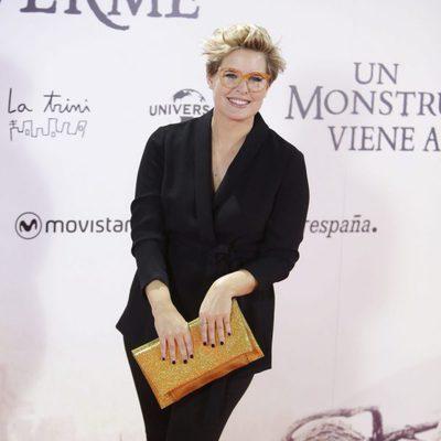 Tania Llasera en el estreno de 'Un monstruo viene a verme'