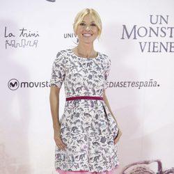 Cayetana Guillén Cuervo en el estreno de 'Un monstruo viene a verme'