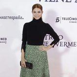 Juana Acosta en el estreno de 'Un monstruo viene a verme'