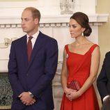 Los Duques de Cambridge en una recepción en la Casa de Gobierno de Victoria