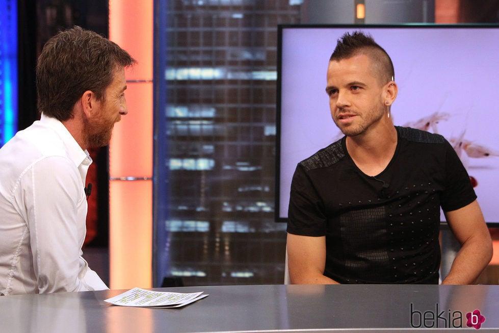 Pablo Motos con David Muñoz en 'El hormiguero'