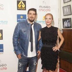 Antonio Orozco y María Esteve en los Premios Chicote 2016
