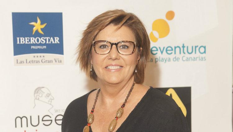 María Escario en los Premios Chicote 2016