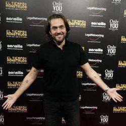 Màxim Huerta en el estreno de la película 'El tiempo de los monstruos'
