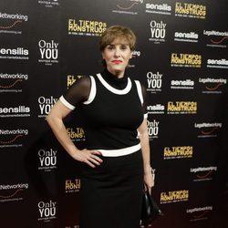 Anabel Alonso en el estreno de la película 'El tiempo de los monstruos'