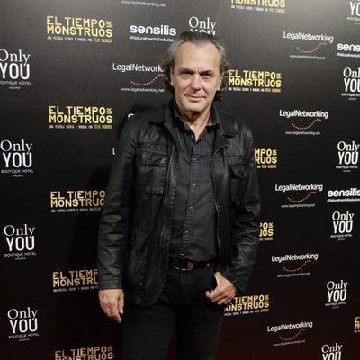 José Coronado en el estreno de la película 'El tiempo de los monstruos'