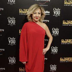 Carmen Machi en el estreno de la película 'El tiempo de los monstruos'