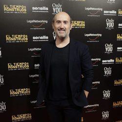Javier Cámara en el estreno de la película 'El tiempo de los monstruos'