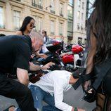 Kim Kardashian, atacada por un agresor en la calle