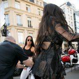 Kim Kardashian atacada por un agresor en la Semana de la Moda de París