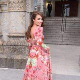 Paula Echevarría en la boda de Marta Hazas y Javier Veiga en Santander