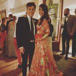 Paula Echevarría y Jorge Vázquez en la boda de Marta Hazas y Javier Veiga en Santander