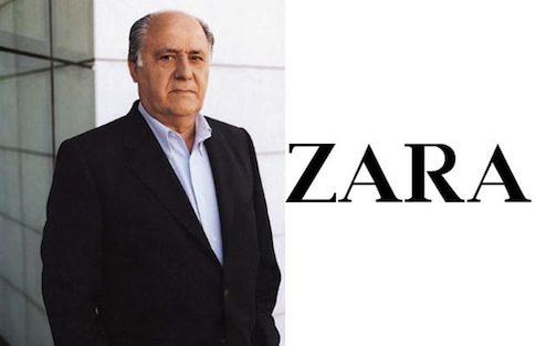 Amancio Ortega, fundador de Zara