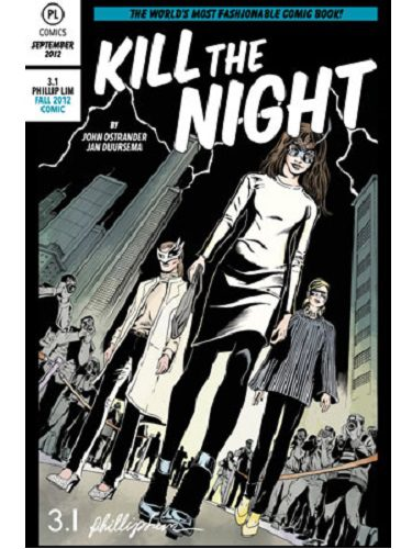 El cómic Kill the Night de Phillip Lim