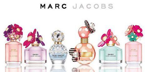 Colección de perfumes de Marc Jacobs