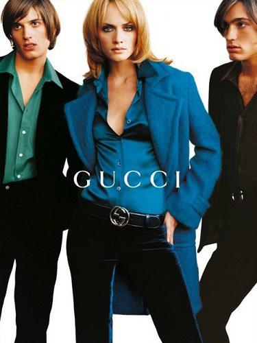 Campaña de Amber Valleta para Gucci en 1995