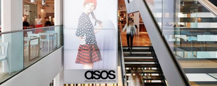 Así se promociona Asos en los centros comerciales