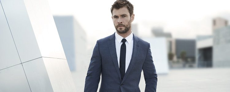 El actor Chris Hemsworth es imagen de Boss Bottled. Man of Today