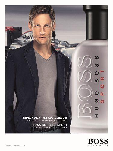 El piloto de Fórmula 1 lanzó un perfume con su nombre y la casa alemana
