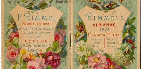 Carteles de Rimmel en sus inicios