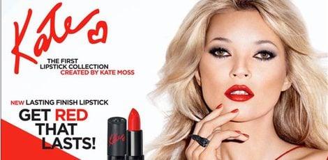 Kate Moss para Rimmel London