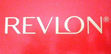 Logo de la marca Revlon
