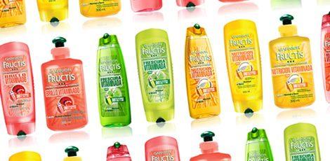 Productos de la marca Garnier