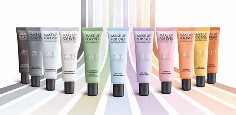 Productos de la marca Make up Forever