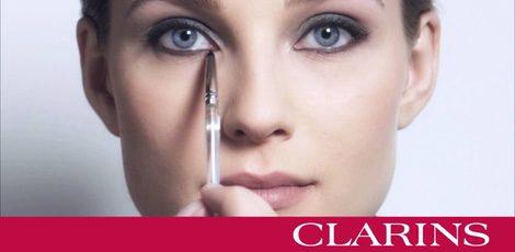 Anuncio de la marca Clarins