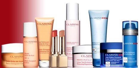 Productos de la marca Clarins