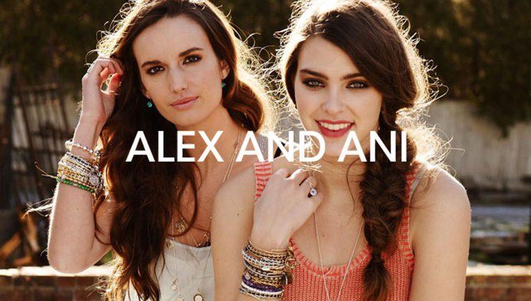 Anuncio de la marca Alex and Ani