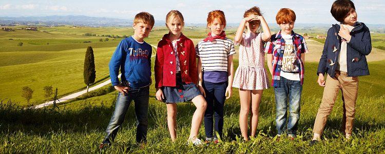 Los niños son los protagonistas de la mayoría de sus campañas