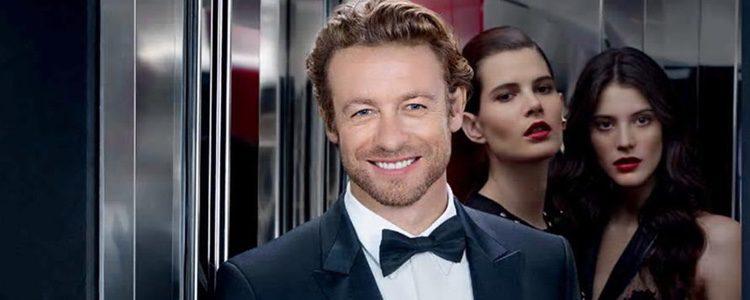Simon Baker como imagen de 'Gentlemen Only' de Givenchy
