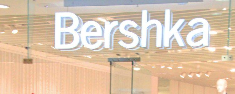 Cartel tienda Bershka