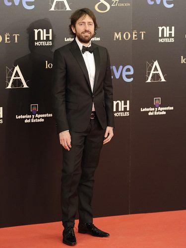 Daniel Sánchez Arévalo lució un traje de Dsquared2 en los Goya 2013