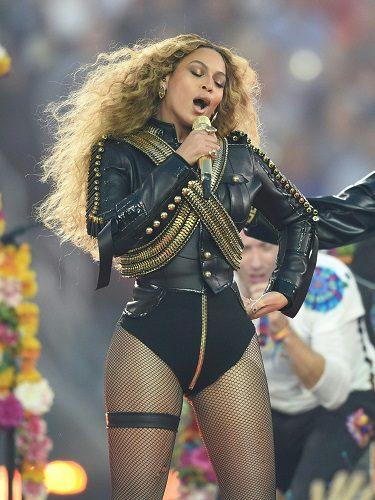 Beyoncé lució un body suyo en la Superbowl de 2016