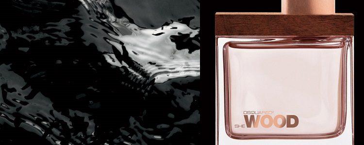 Perfume She Wood, primera fragancia femenina de la firma