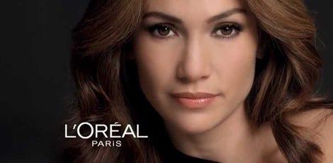 Jennifer Lopez para L'Oréal