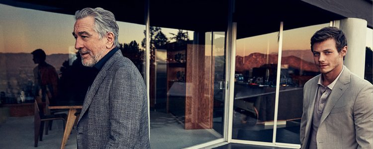 Robert De Niro junto a McCaul Lombardi en la nueva campaña para 2017