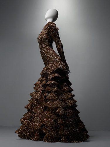 Vestido de la marca Alexander McQueen