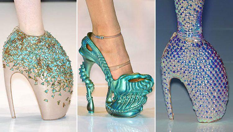 Zapatos de la marca Alexander McQueen