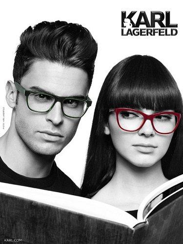 Kendall Jenner y Babtiste Giabiconi protagonistas de la campaña de gafas para 2015