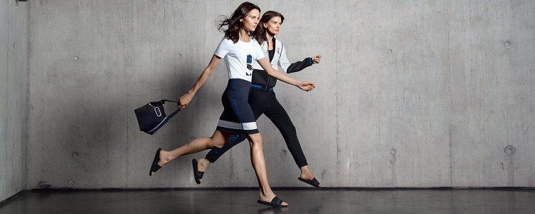 Modelos de la colección Sport City para la temporada primavera/verano 2015