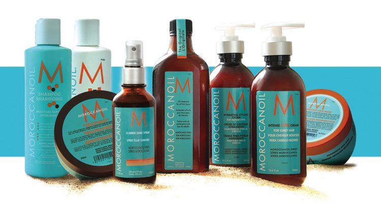 Productos de la marca Moroccanoil