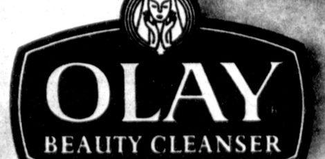 Logo antiguo de la marca Olay