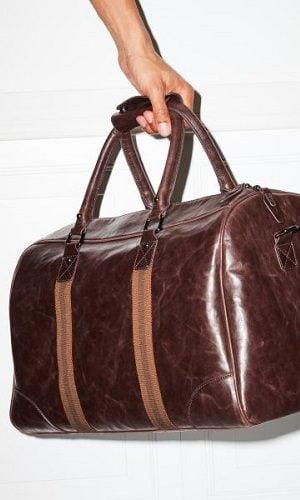 Bolsa de mano modelo Roreto en piel para hombre de la colección 2017