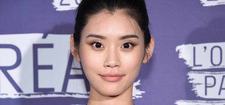 Marca Kenzo, la modelo Ming Xi