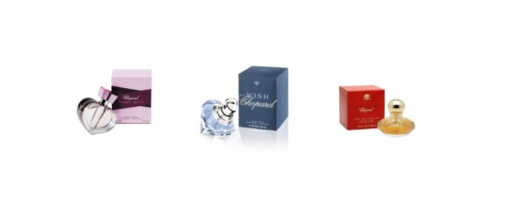Perfumes femeninos Happy Spirit, Wish y Casmir
